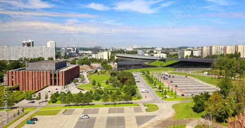 Katowice / Panorama vief of the city center