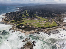 Aerial View Of Monterey Peninsula In California