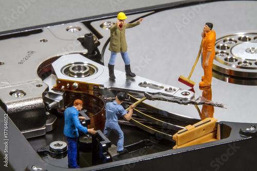 Fotografia  Repair Hard Drive