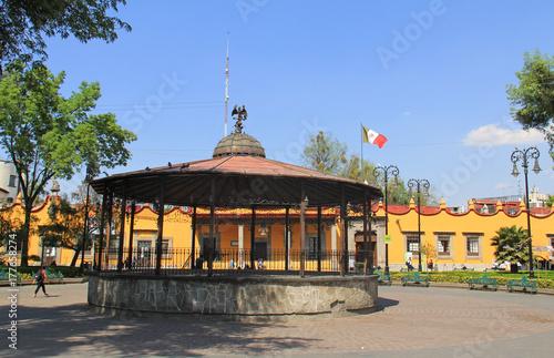 Plaza Hidalgo Coyoacan Mexico #177658274