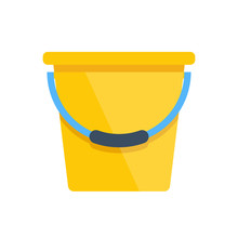 Vector Yellow Bucket