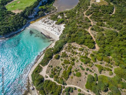 Zdjęcie XXL Plaża Sperone na południu Korsyki