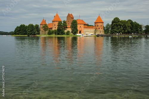 Fototapeta Zamek nad jeziorem
