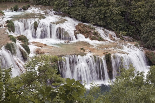 Plakat Park Narodowy Krka Chorwacja Adriatyk wodospad