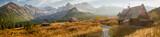 Fototapeta Mountains - Hala Gąsienicowa w Tatrach, pora roku - jesień