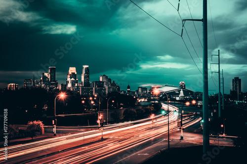 Minneapolis Billede på lærred
