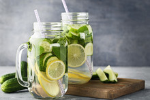 Lemonade With Cucumbers, Lemon...