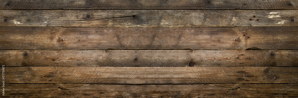 Fototapety, obrazy: Natural wood texture for background. Copy space, banner
