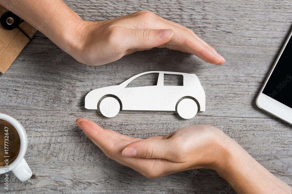 Fototapety, obrazy: Car insurance concept