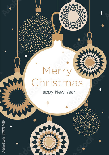 Fotografia  Christmas greeting card