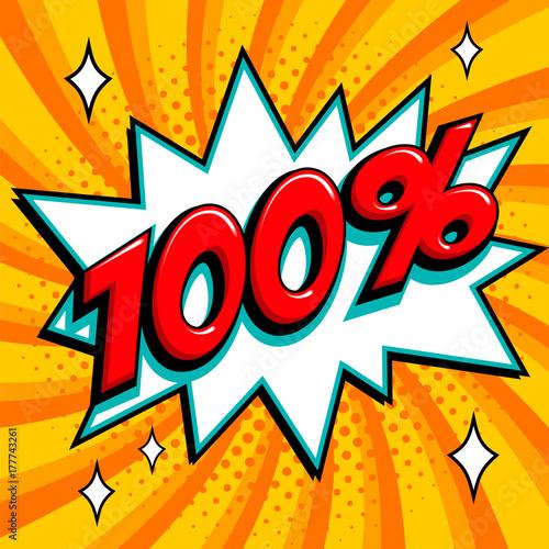 Zdjęcie XXL 80 wyłączone. Osiemdziesiąt procent od sprzedaży na różowym skręconym tle. Komiks w stylu pop-art w kształcie huku. Baner sezonowy sezon. spadające rabaty cenowe.