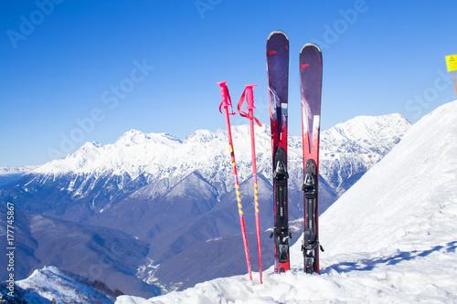 alpin ski resort