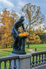 Sculpture Of A Woman, Black Ma...