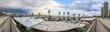 Fußgängerpromenade am Yachthafen und Strand von Barcelona