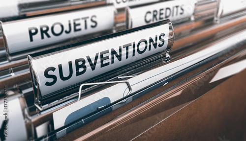 Fotomural  Demande de Subventions
