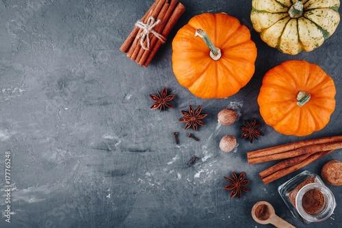 Pumpkin pie spice. Fototapeta