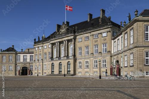 Photo  Amalienborg Palace - Copenhagen - Denmark