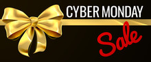 Cyber Monday Sale Gold Gift Bo...