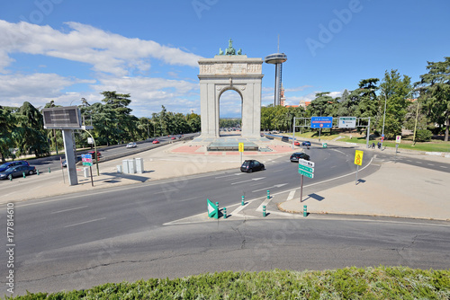 Victory Arch (Arco de la Victoria), Madrid, Spain