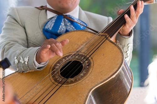 Plakat Mariachi Guitar Player