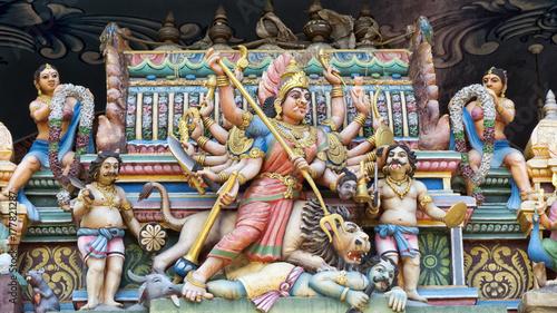 Obraz na płótnie Hinduski bóg Shiva