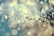 canvas print picture - Abstract icy background with snowflakes