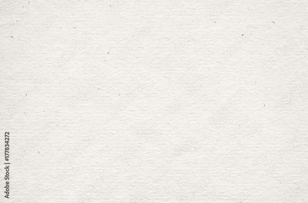 Fototapety, obrazy: Beige recycled horizontal note paper texture, light background.