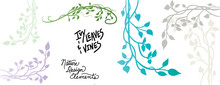 Vines And Ivy Vector Designs W...