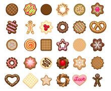 Christmas Cookies Icons And Xm...