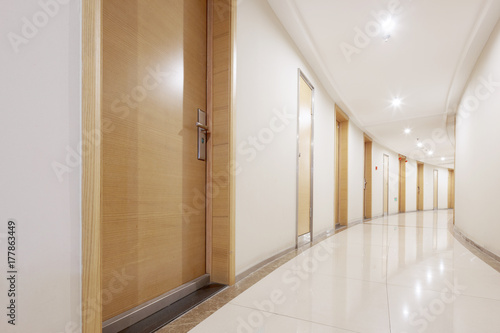 Fotografia  interior of modern corridor
