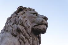 Lion Statue Close-up