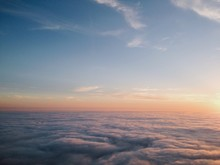 Above The Clouds At Sunset