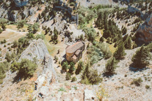 Small Church In The Middle Of The Canyon