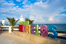Puerto Morelos Word Sign In Ri...