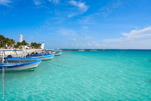 Cadres-photo bureau Caraibes Puerto Morelos beach in Riviera Maya