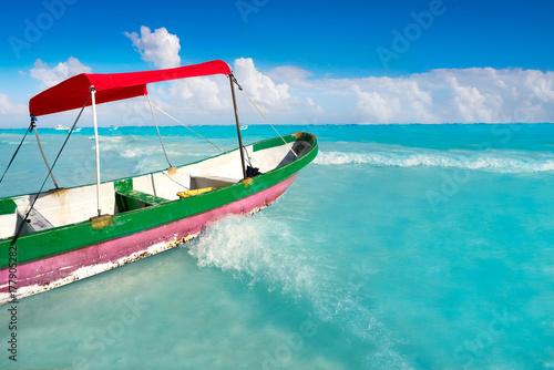 Foto op Plexiglas Caraïben Tulum Caribbean beach in Riviera Maya