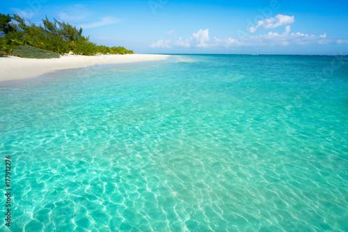 Cadres-photo bureau Caraibes Riviera Maya Caribbean beach turquoise Mexico