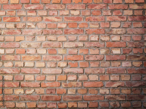Foto op Canvas Graffiti Brick Wall