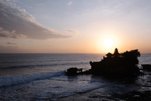 Tanah Lot Temple In Bali Surro...