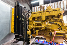 Diesel Generator For Backup Electric System.