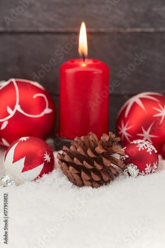 Zdjęcie XXL Świecę na Boże Narodzenie