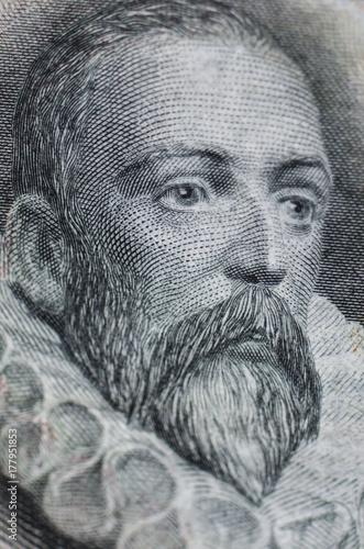 Miguel de Cervantes Saavedra. Author of Don Quijote de la Mancha Canvas Print