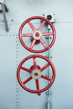 Vintage Steam Valve Wheels