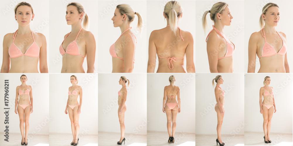 Fototapety, obrazy: Collage Snap Models