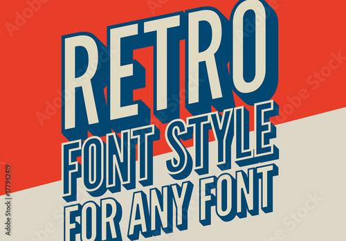 styl-plakatu-retro-3d