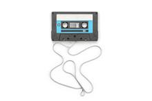 Vintage Audio Tape Cassette On...