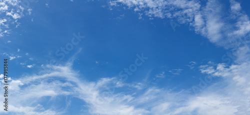 Plakat panorama nieba