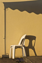 Lonely Chair Under A Canopy Of...
