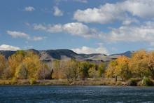 Autumn Landscape Of Lake Looki...