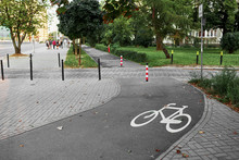 Bike Paths In The Fresh Air